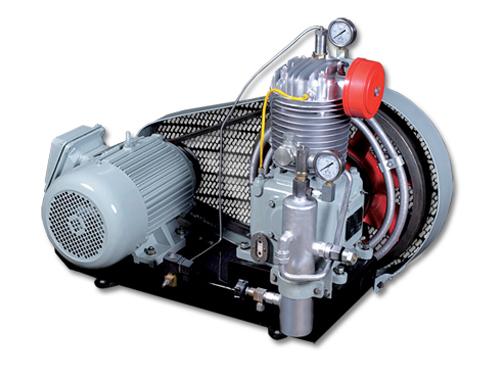 中压风冷、皮带传动系列舰船用空气压缩机
