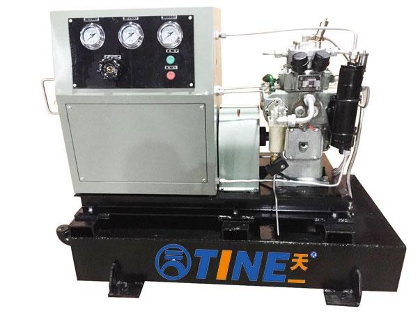 高压直联传动系列带水箱空气压缩机